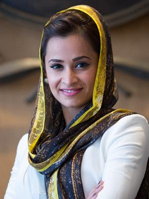 Etihad Airways - Captain Aysha Al Hamili