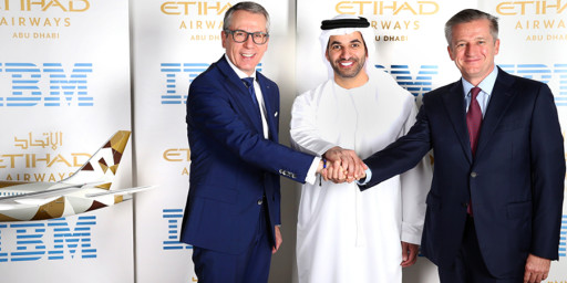 US$700 Million Technology Services Signed by Etihad Airways, Cloud Collaboration with IBM to Transform Global Operations