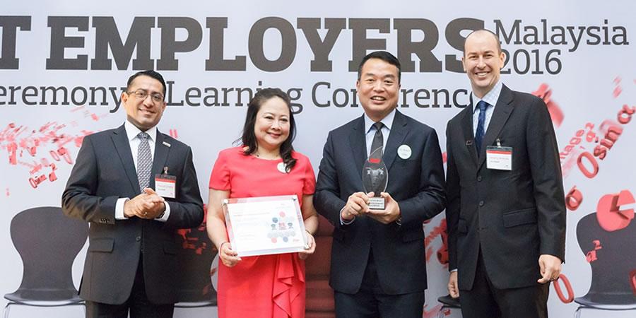 Aon Best Employers Malaysia 2016
