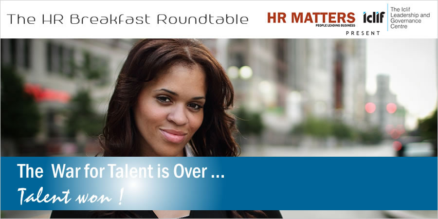Breakfast Roundtable - The War For Talent Is Over