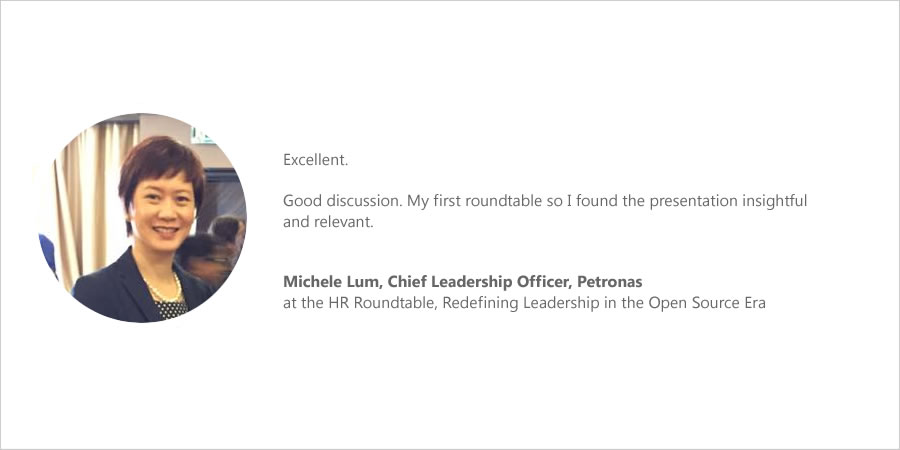 Roundtable-Feedback Michele Lum, Petronas