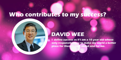 Who Contributes to My Success? by David Wee